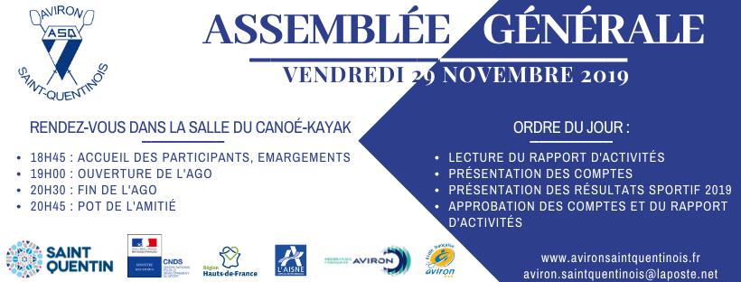 Assemblée Générale 2019